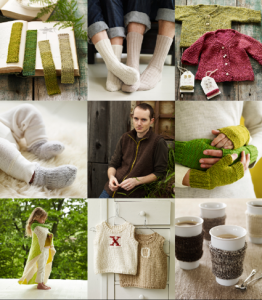 """""""More Last Minute Knitted Gifts"""", by Joelle Hoverson, features some great gift ideas."""
